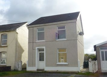 Thumbnail 3 bed detached house for sale in Brynamman Road, Brynamman, Ammanford, Carmarthenshire.