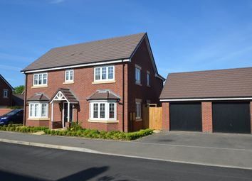 Thumbnail 4 bed detached house for sale in Edward Cave Walk, Newton, Rugby