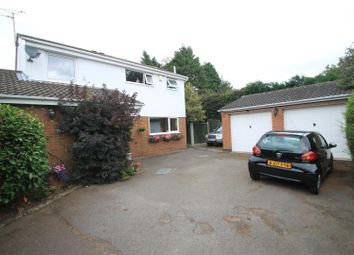 Thumbnail 4 bed detached house for sale in Windermere Close, Earl Shilton, Leicester