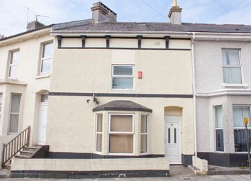 Thumbnail 4 bed terraced house for sale in Sydney Street, North Road West, Plymouth