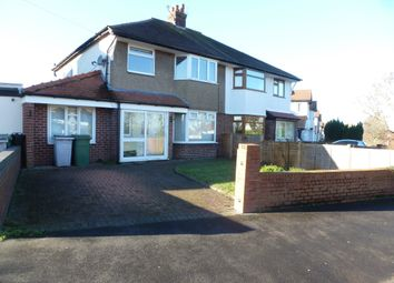 Thumbnail 3 bed semi-detached house to rent in Hillfield Drive, Heswall
