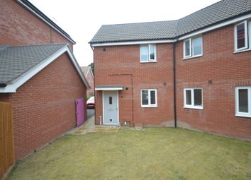 Thumbnail 2 bed flat for sale in Costessey, Norwich