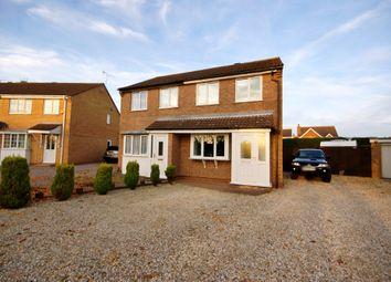 Thumbnail 2 bed semi-detached house for sale in Brough Close, Lincoln