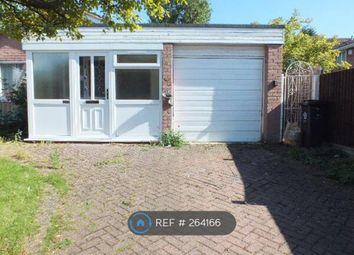 Thumbnail 3 bed bungalow to rent in Lindrick Drive, Leicester