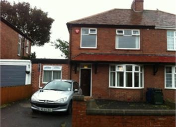 Thumbnail 4 bed semi-detached house to rent in Tiverton Avenue, Grainger Park, Newcastle Upon Tyne, Tyne And Wear
