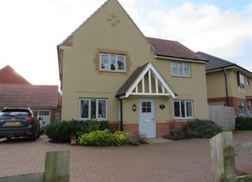 Thumbnail 4 bedroom detached house for sale in Kestrel Road, Corby