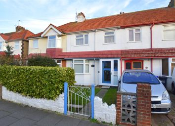 Thumbnail 3 bed terraced house for sale in Grand Avenue, Lancing, West Sussex