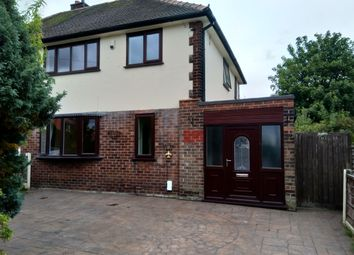 Thumbnail 3 bed semi-detached house to rent in Stockport, Woodley, Woodley