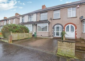 Thumbnail 3 bed terraced house for sale in Fourth Avenue, Bristol