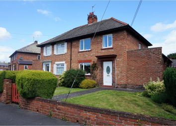Thumbnail 3 bedroom semi-detached house for sale in Lydgate Avenue, Bishop Auckland