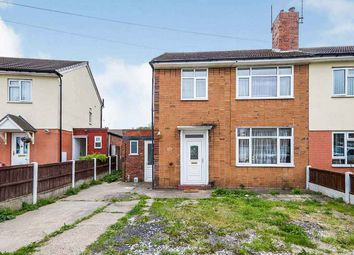 Thumbnail 3 bed semi-detached house for sale in Essex Road, Burton-On-Trent, Staffordshire