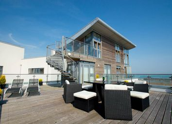 Thumbnail 3 bed flat for sale in Midway Quay, Eastbourne