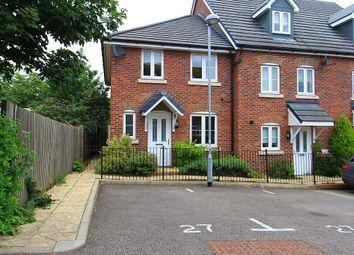 Thumbnail 3 bedroom end terrace house for sale in Saffron Crescent, Sawbridgeworth, Essex