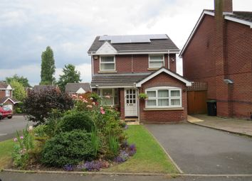 Thumbnail 3 bedroom detached house for sale in Bridle Grove, West Bromwich, West Bromwich
