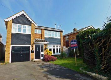 Thumbnail 4 bed detached house for sale in Cutlers Lane, Stubbington, Fareham
