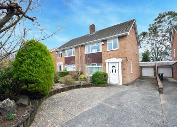 Thumbnail 3 bed semi-detached house for sale in Carnegie Drive, Lakeside, Cardiff