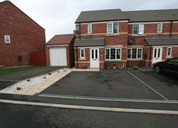 Thumbnail 3 bed terraced house for sale in Llys Collen, Okenholt, Flint