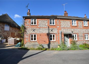 Thumbnail 2 bed semi-detached house for sale in Five Bells Lane, Nether Wallop, Stockbridge