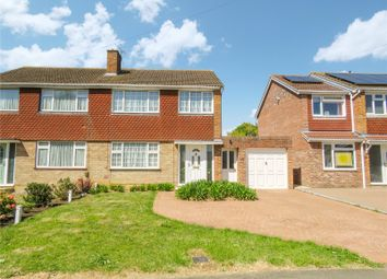 Thumbnail 3 bed semi-detached house for sale in Burstellars, St. Ives, Cambridgeshire