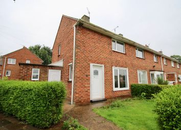 Thumbnail 2 bed end terrace house for sale in Welbourn Gardens, Lincoln