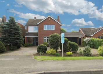 Thumbnail 3 bedroom detached house for sale in Lutterworth Road, Blaby, Leicester
