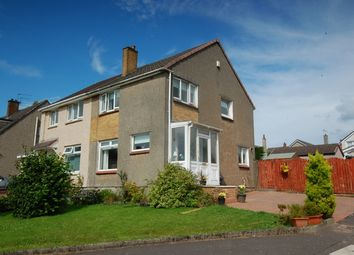 Thumbnail 3 bedroom semi-detached house for sale in Breval Crescent, Hardgate, Clydebank