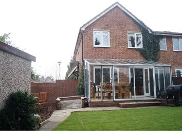 Thumbnail 3 bedroom end terrace house for sale in Broomfield Avenue, Broxbourne