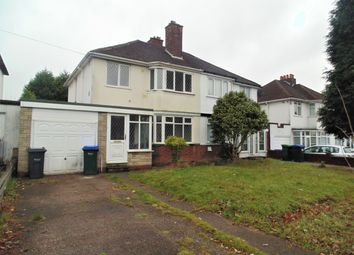 Thumbnail 3 bedroom semi-detached house to rent in Birmingham Road, Great Barr