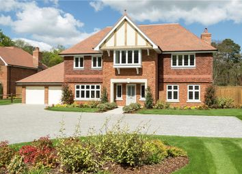 Thumbnail 5 bedroom detached house for sale in St. Neots Road, Eversley, Hook