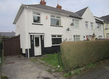 Thumbnail 3 bedroom end terrace house for sale in Greenfarm Road, Cardiff