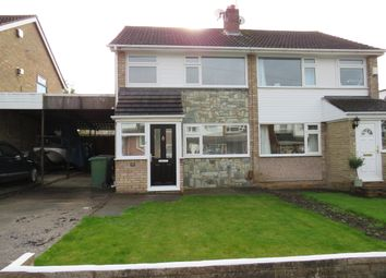 Thumbnail 3 bed property to rent in Somerville Close, Bromborough, Wirral