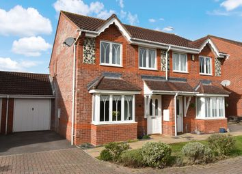 Thumbnail 3 bed semi-detached house for sale in Hawthorne Close, Thatcham