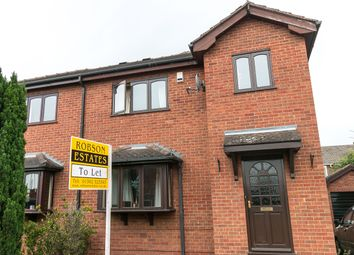 Thumbnail 3 bed semi-detached house to rent in Allendale Gardens, Sprotborough, Doncaster