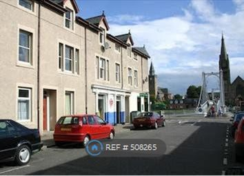 Thumbnail 2 bedroom flat to rent in Greig Street, Inverness