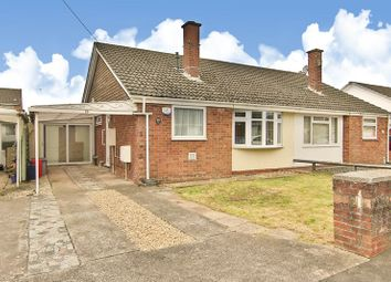 Thumbnail 2 bed semi-detached bungalow for sale in Linnet Road, Caldicot