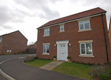 Thumbnail 4 bedroom detached house for sale in Rosewood Drive, Ponteland, Newcastle Upon Tyne