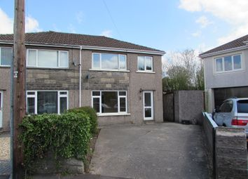 Thumbnail 3 bed semi-detached house for sale in Redlands Close, Pencoed, Bridgend.