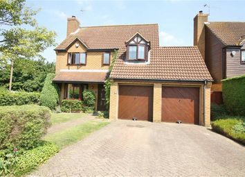 Thumbnail 4 bedroom detached house to rent in Little Meadow, Loughton, Milton Keynes
