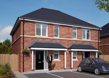 "Thumbnail 2 bed semi-detached house for sale in ""The Coleford"" at Wellow Road, Ollerton, Newark"
