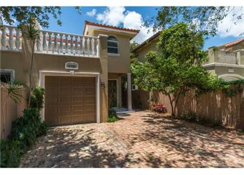 Thumbnail 3 bed town house for sale in 3180 Matilda St # 3180, Coconut Grove, Florida, United States Of America