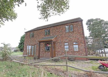 Thumbnail 4 bed detached house for sale in South Fen Road, Bourne