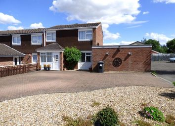 Thumbnail 3 bed end terrace house for sale in Greskine Close, Bedford