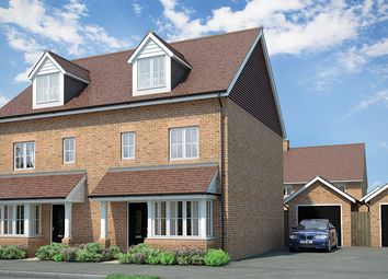 "Thumbnail 4 bed property for sale in ""Darwin"" at Moy Green Drive, Horley"