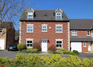 Thumbnail 5 bed detached house for sale in Lyveden Way, Corby