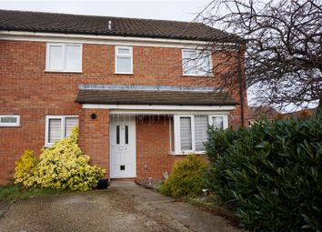 Thumbnail 2 bed end terrace house for sale in Lincoln Crescent, Biggleswade