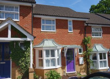 Thumbnail 2 bed terraced house to rent in Silvester Way, Church Crookham, Fleet