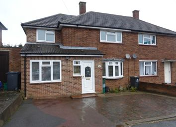 Thumbnail 4 bedroom semi-detached house for sale in Ivers Way, New Addington, Croydon