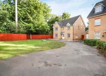 Thumbnail 5 bedroom detached house for sale in Benet Close, Thetford