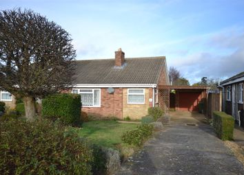 Thumbnail 3 bed semi-detached bungalow for sale in Kenwood Road South, Heacham, King's Lynn
