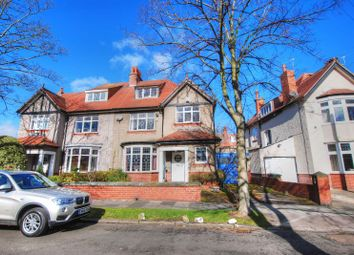 Thumbnail 5 bed semi-detached house for sale in Moor Crescent, Gosforth, Newcastle Upon Tyne